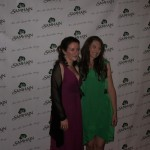 Sally with fellow Firebird Joanne Lockyer