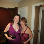 And yes, that is me standing next to the one and only Nora Roberts.